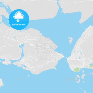 Printable map of Ha Long, Vietnam - HEBSTREITS