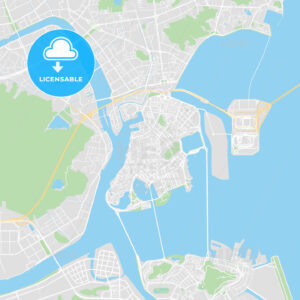 Printable map of Macau, Macau - HEBSTREITS