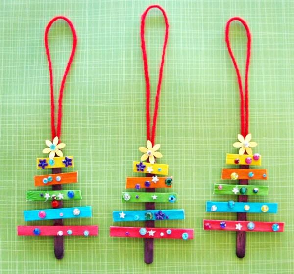 christmas ornaments popsicle sticks # 77