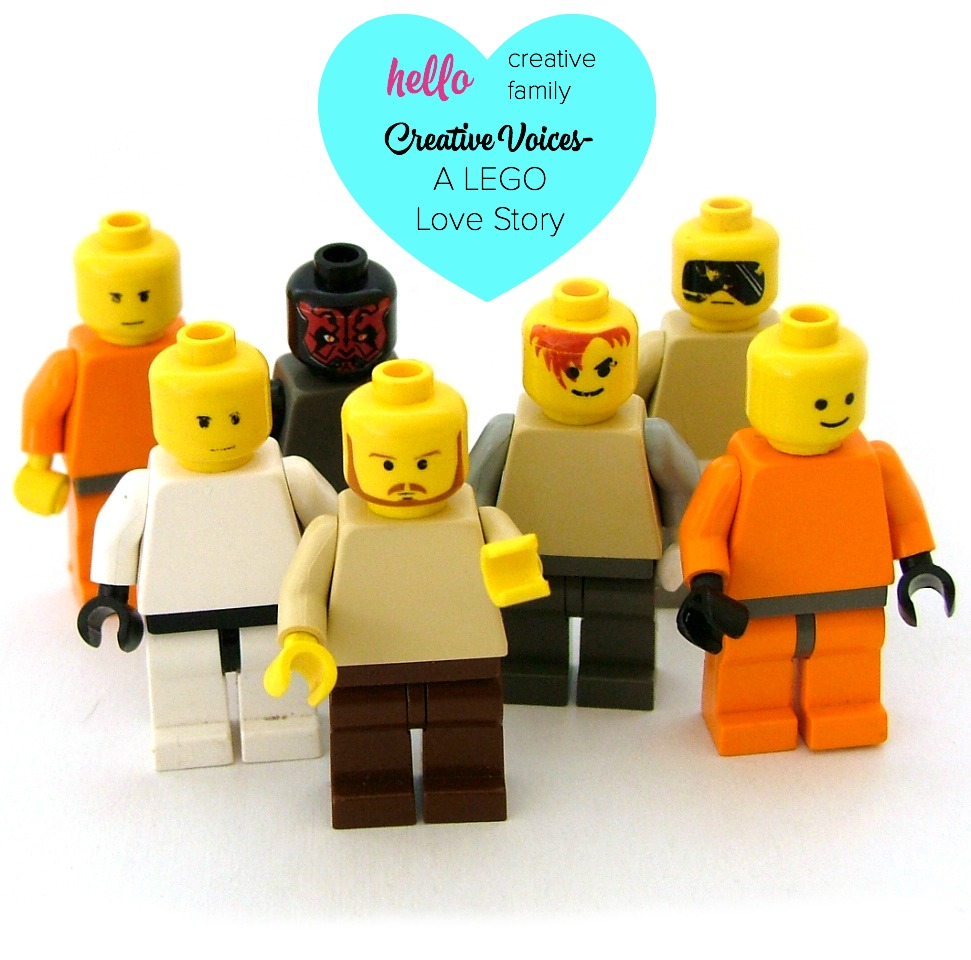 Creative Voices  A LEGO Love Story   Hello Creative Family In the latest Creative Voices  parenting editor  Karen shares her favourite  LEGO memory