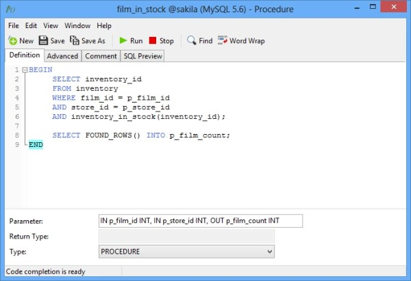 sql how to create function # 9