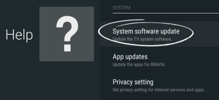 How do I update my Sony TV firmware      Stan Support How do I update my Sony TV firmware
