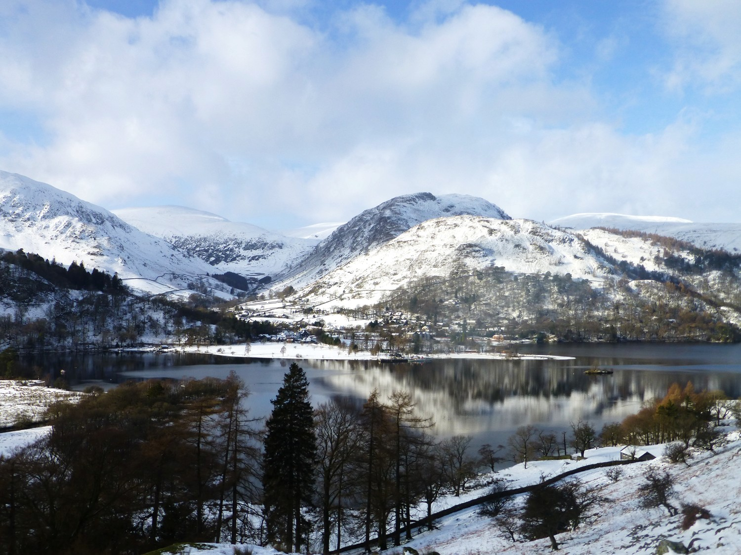 More Snow In The Lake District Helvellyn S Blog
