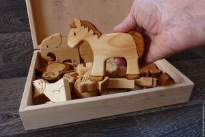 लकड़ी के खिलौने - ऑनलाइन स्टोर में खरीद या आदेश
