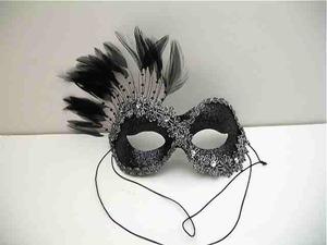 Masker kertas bergelombang karnaval