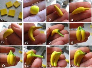 Banana từ Clay.