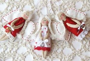 Новогодние ангелочки
