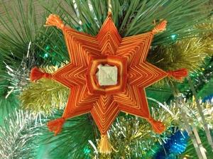 كيفية جعل نجمة عيد الميلاد من الورق