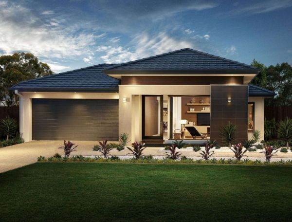 Explore Our New Home Designs   Henley Henley Caspian Series Vogue Fa    ade   Reserve Home Collection