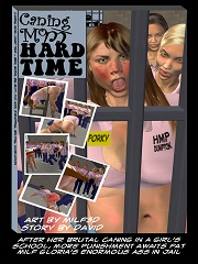 Caning Mom- Hard Time [Milf-3D]