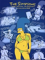The Simpsons are The Sexenteins – Adult Comix