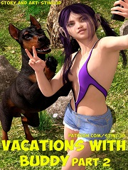 Vacations With Buddy 2- [Sting3D]