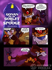 Gonan And The Goblet Of Spooge- [By Gideon]