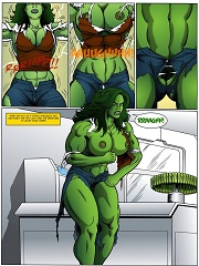 Sexiest She Hulk- [By Manic]