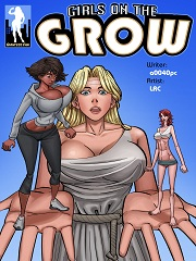 Girls On The Grow- [By Giantess Fan]