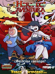 Adventure Time- Saldrias Conmigo- English [By Ferrand-85]