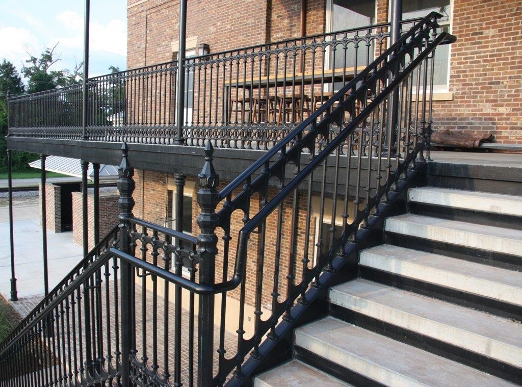 Cast Iron Railings Gates And Fencing | Wrought Iron Stair Railing Cost | Spiral Staircase | Traditional | Background | Raw Iron | Rot Iron