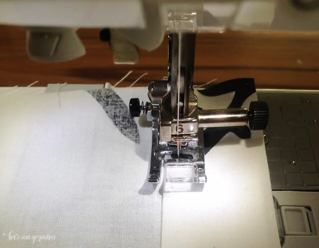 Sewing easy sew curtains on sewing machine