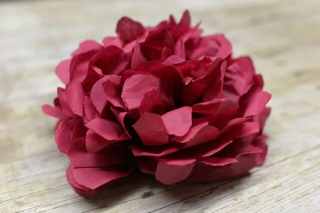How to make flowers out of tissue paper and wire flower shop near make a tissue paper full bloom rose lia griffith tissue diy roses tissue paper rose bouquet tissue paper roses diy diy paper garden roses mightylinksfo