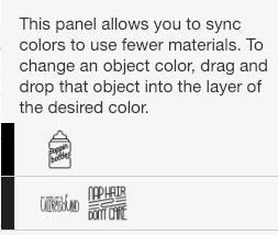 screenshot of ColorSync before