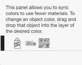 screenshot of Colorsync after