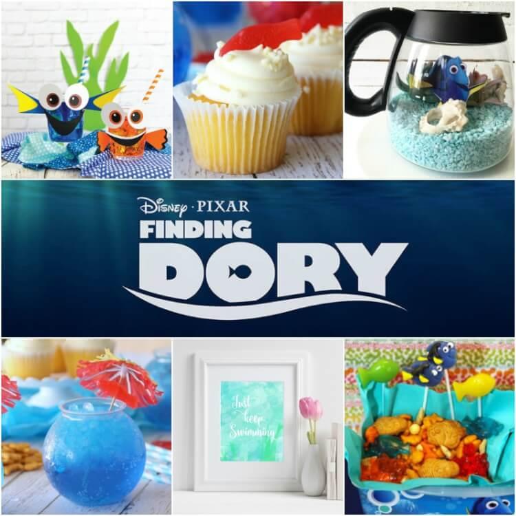 Dory & Nemo themed party ideas