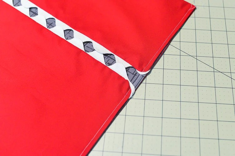 easy-sew shark clothespin holder supplies - sew a straight line
