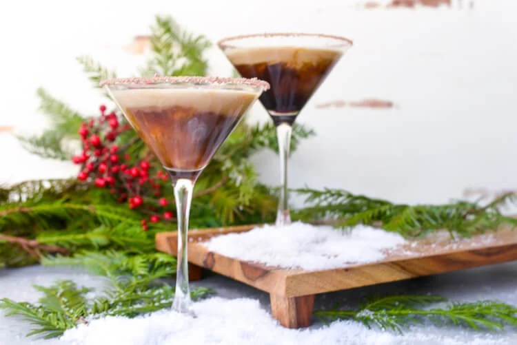 Ralphie gets an bitter reminder to drink his Ovaltine in A Christmas Story! Here's a better recipe for it -- an Ovaltine Martini, or as I like to call it, an Ovaltini!