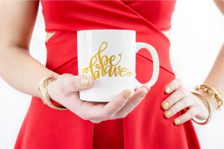 Be Brave Cut File from Printable Crush for Hey Let's Make Stuff
