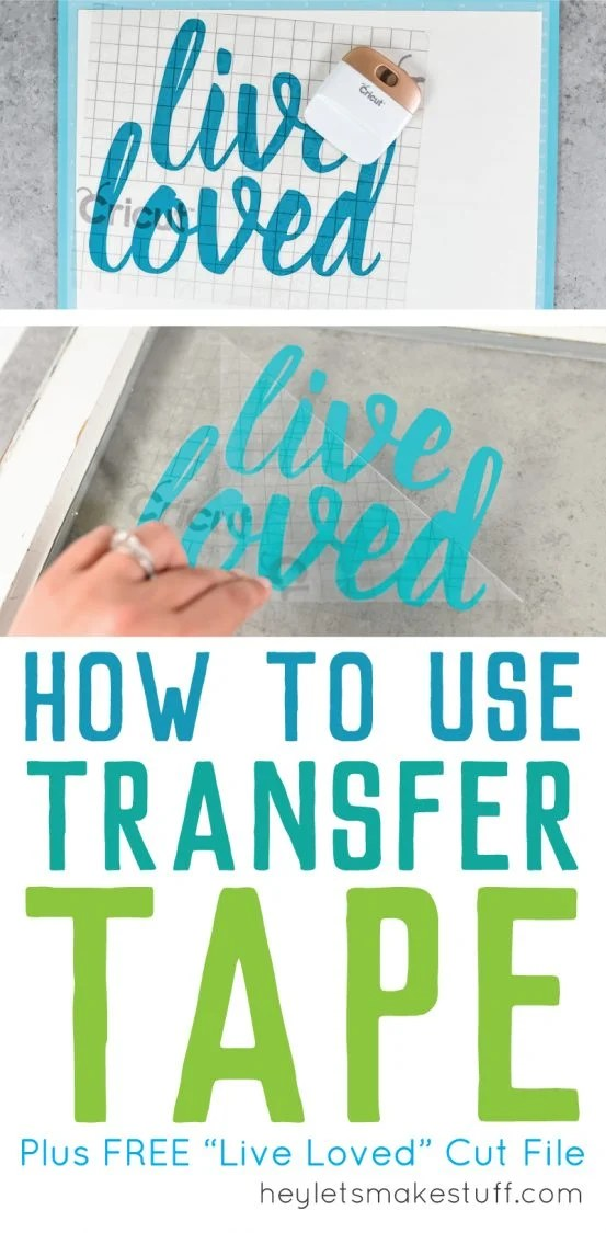 how to use transfer tape pin image