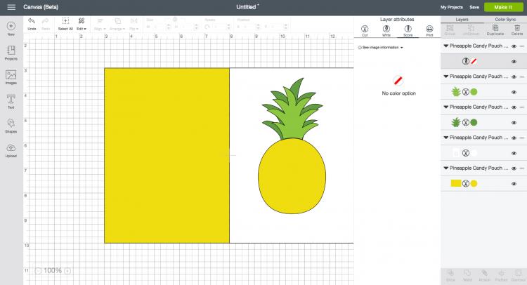 tutorial for Using Score Lines in Cricut Design Space