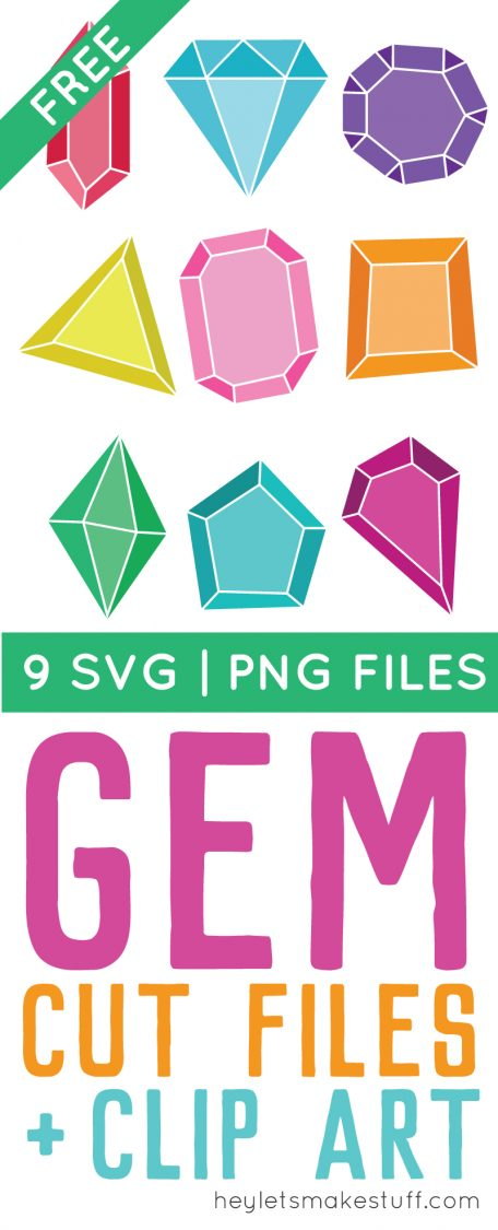 Get your sparkle on with these fun and flirty SVG gem cut files! So cute cut in vinyl or paper for nursery decor, baby showers, jewelry holders, or anywhere else you need a touch of glam.