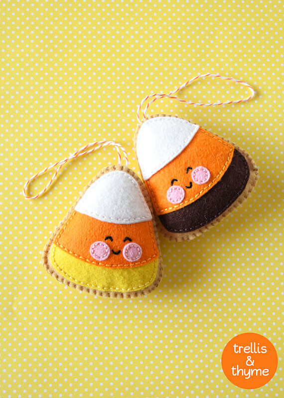 Candy Corn Cookie Pattern - Trellis & Thyme