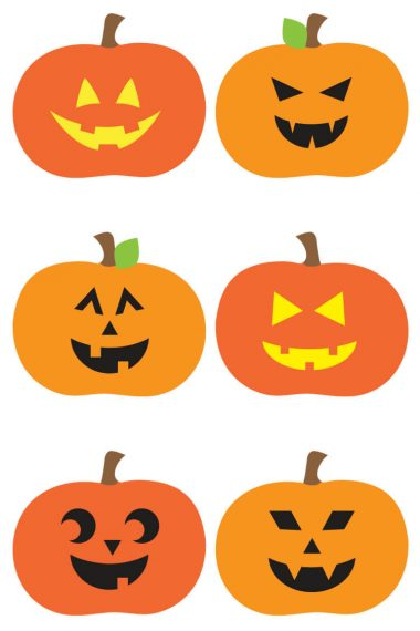 Trick or treat! Download these adorably spooky Jack O Lantern cut files and PNG clip art! Nine designs for all of your Halloween projects.