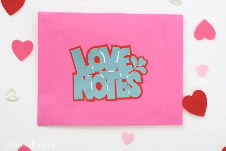 Love Notes SVG
