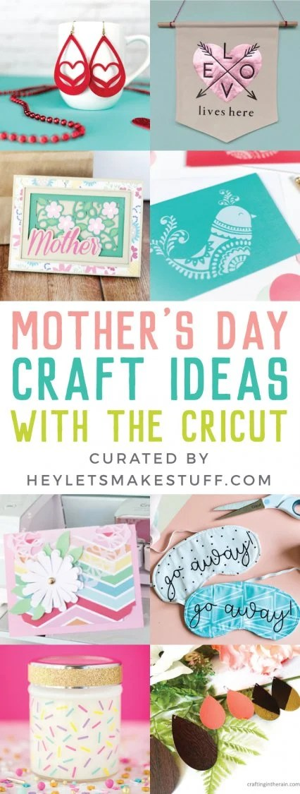 Mother's Day Craft Ideas with the Cricut Pin Image