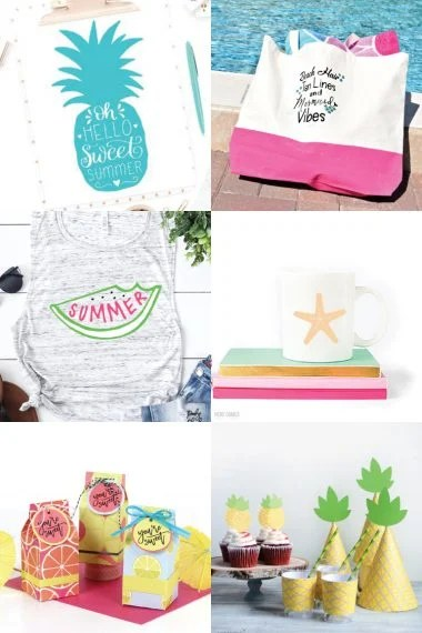 Warm days, pool parties, popsicles, vacations and more! Make summer crafts and beach projects with these FREE Beach and Summer SVGs!