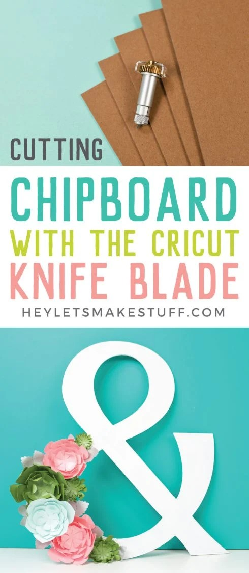 With the Cricut Knife Blade, your crafting possibilities are endless! Get all my best tips for cutting chipboard with the Cricut Knife Blade, including what chipboard to buy and tricks to ensure your chipboard projects turn out great!