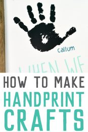 If you're looking for gift idea from your kids, this handprint craft you can make using your Cricut Explore or Maker is perfect! Learn how to digitize a handprint so you can use it in handprint crafts for all sorts of gift ideas. Today we're using it to make a Mother's Day sign, but it's also great for Father's Day, Grandparents' Day, Christmas, and more.