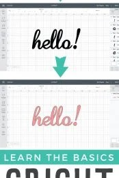 Cricut Design Space fonts are not as straightforward as you'd think! Why are your letters all spaced out? Why are all your letters cutting separately? Check out these font basics in the Cricut Design Space!