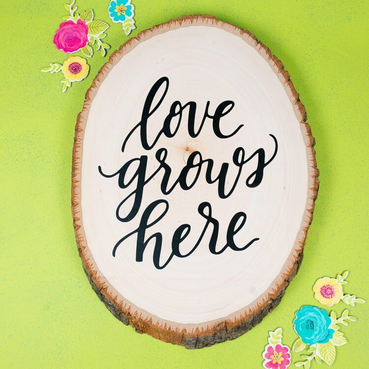 Use iron on vinyl on wood to create this sweet and welcoming message for all your guests. I walk you through the steps to make your very own piece.