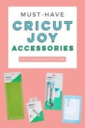 Got yourself a Cricut Joy? You're probably wondering what accessories you need! Which are important, and which are more of a splurge? Let's find out!