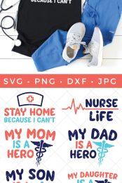 healthcare worker SVG