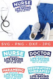 It's an extraordinary time to be a healthcare worker! This free nurse SVG is perfect for telling your favorite nurse just how much they are appreciated!