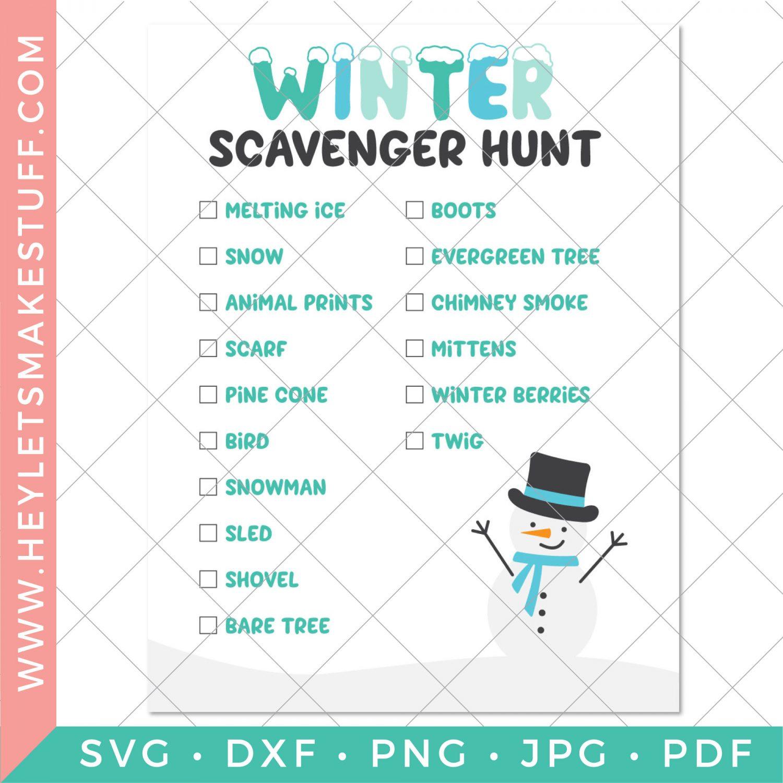 Security image for Winter Scavenger Hunt