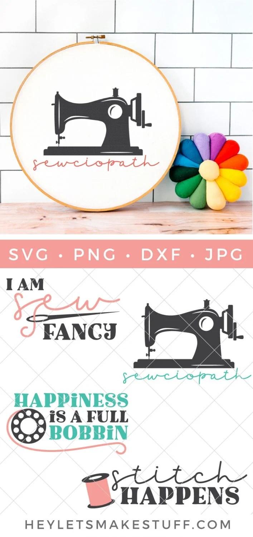 Sewing SVG Bundle pin image