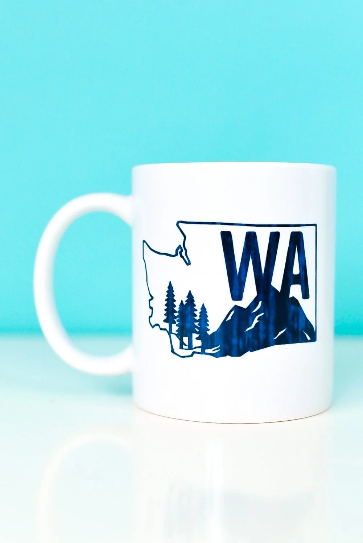 Washington State Infusible Ink Mug