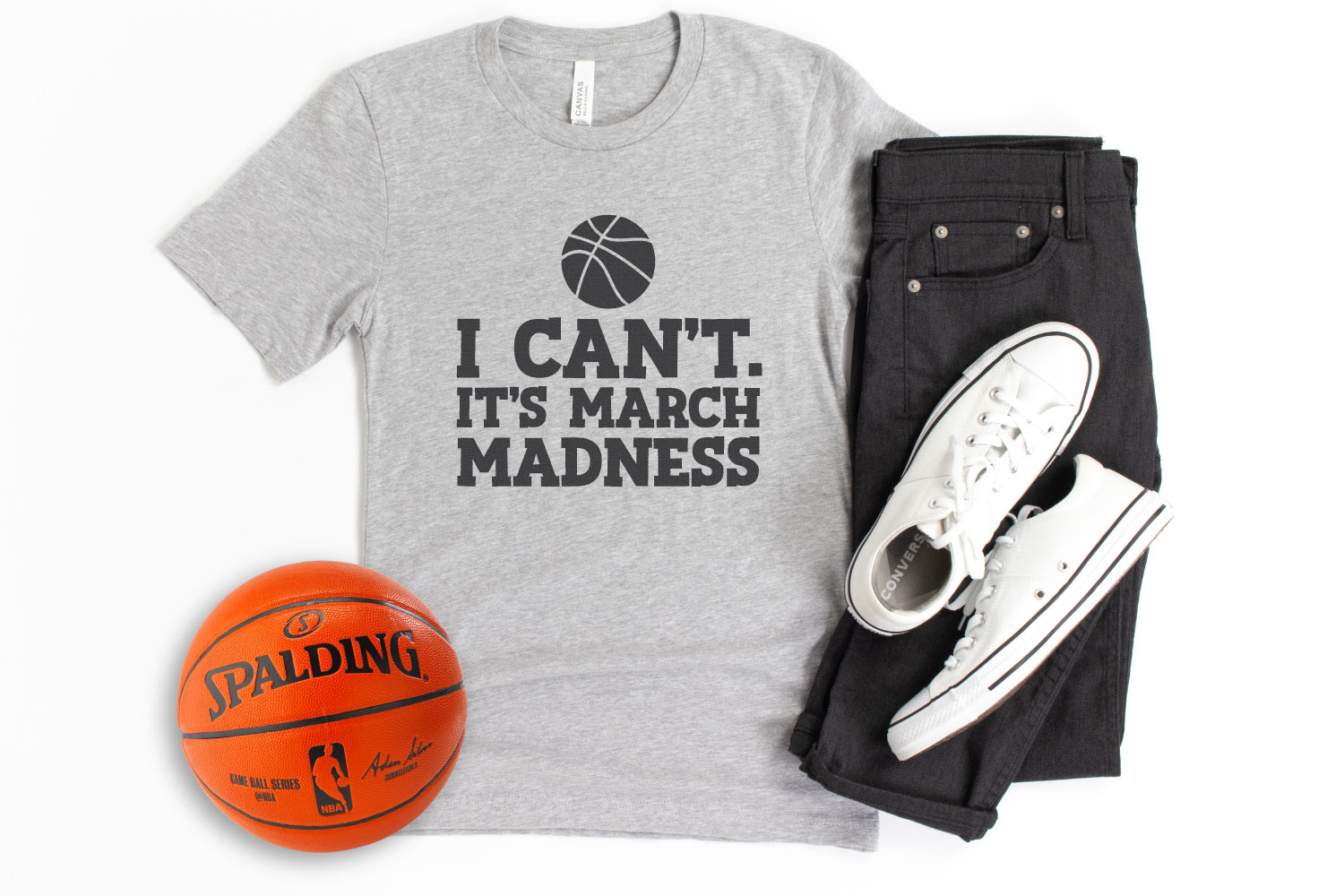 I Can't. It's March Madness SVG image