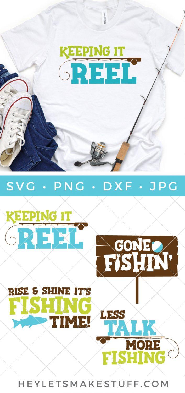 Fishing SVG bundle pin image