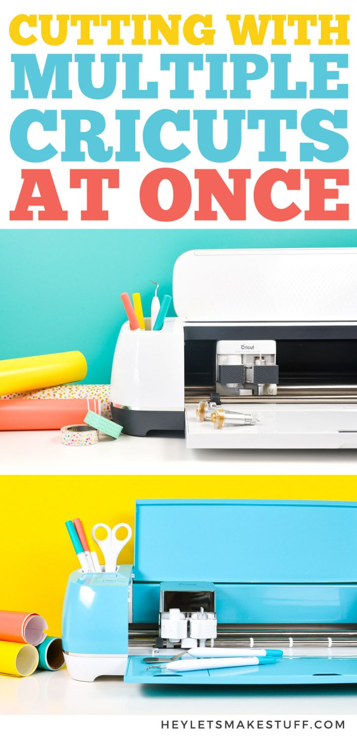 Cutting with Multiple Cricuts Pin Image